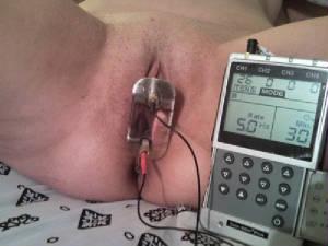 Clitoris electrode picture